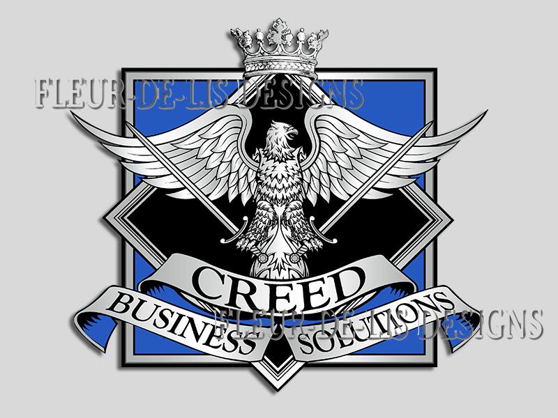 Fleur De Lis Designs Custom Crests Logos And Coats Of Arms