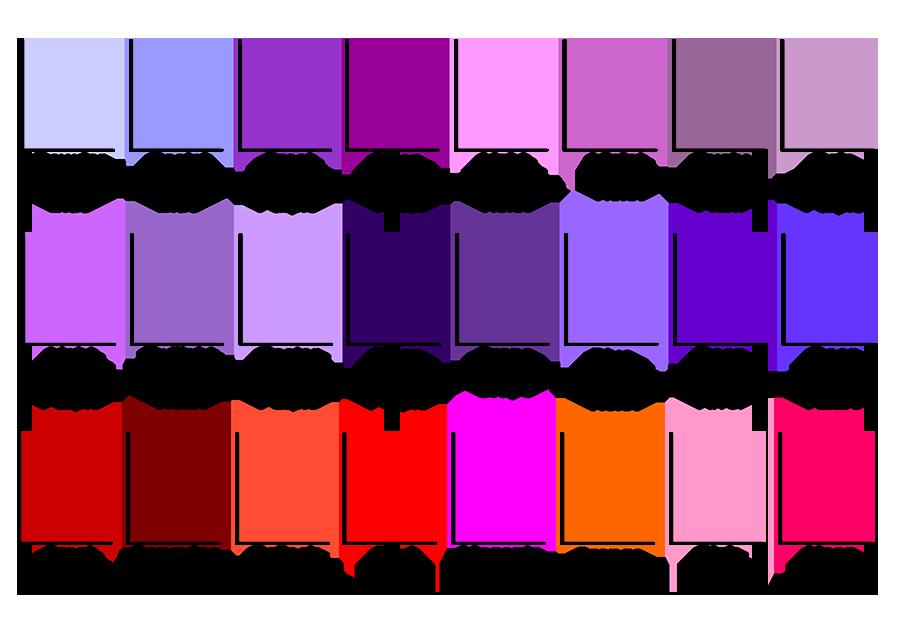 Fleur-de-lis Designs: Color Palette